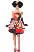 Queen of Hearts Alice in Wonderland Halter Adult Costume  L15131