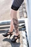 Tattoo Stocking L9084