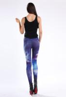 Multicolored Sexy Galaxy Leggings  L8742