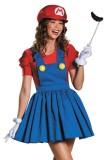 Womens Mario Skirt Costume L15311