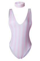 V-Neck Sleeveless SwimSuit L32599-3