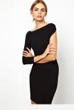 Shoulder Asymmetric Dress L2605