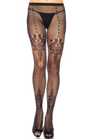 Chandelier Lace and Net Pantyhose L92245