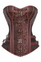 Vintage Gothic Overbust Steel Boned Corsets
