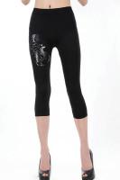 Scorpion Black Short Legging L376