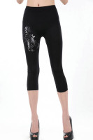 Scorpion Black Short Legging L376