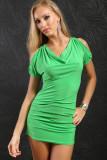 Sexy Halter Dress Green L2290-3