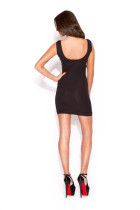 Mesh Insert Bodycon Dress L2748