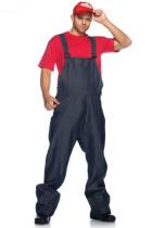 Plumber Mario Adult Costume L15305