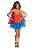 Sexy Wonder Woman Corset Costume  L15235