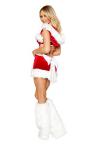 Sexy Claus Costume With Leg Warmer L7084