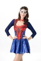 Deluxe Spider Girl Superhero Halloween Costume L15402