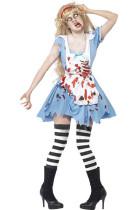 Ladies Zombie Malice Alice Costumes