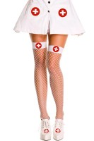 Nurse Fishnet Stockings L92274-1