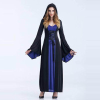 Witch Halloween Costumes with Hood 15520-2