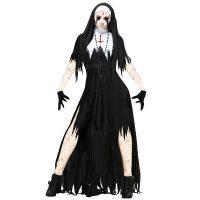 Women's Dreadful Nun Plus Size Costume 15526