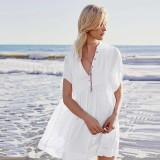 Women's White Rowan Mini Dress 384942