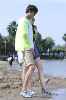 Camouflage Beach Swim Shoes 0813-4