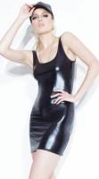 Wet Look Tank Dress 60809