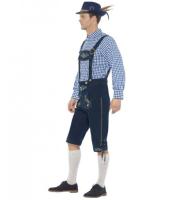 Traditional Deluxe Rutger Bavarian Mens Costume 1019
