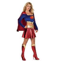 Deluxe Supergirl Adult Costume 1050