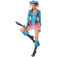 4 Piece Pirate Costume 1066