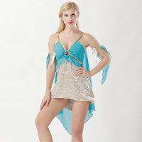 2Pc.Golden Goddess Dress 1064