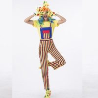 Stripes the Funny Clown Costume