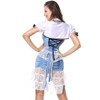 Womens Wonderful Land Alice Costume
