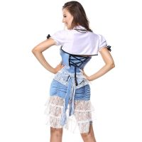 Womens Wonderful Land Alice Costume