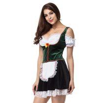 Green /White Beer Girl Fancy Dress