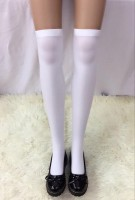 Women's Nylon White Tights Stocking