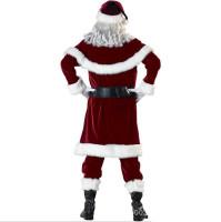 Rubie's Deluxe Velvet Christmas Santa Claus Costumes