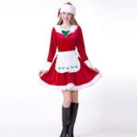 Womens Mrs.Santa Claus Adult Costume