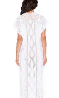 Goddis Alisha Caftan Dress in White