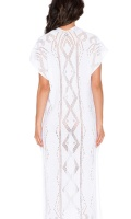 Goddis Alisha Caftan Dress in White