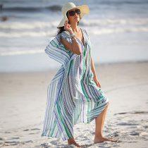 Woman Beach Long Chiffon Tunic