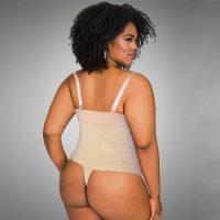 Adjustable Thin Straps Slimming Body Thong Shaper