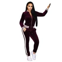 Women's Tracksuit Bomber Jacket and Pants