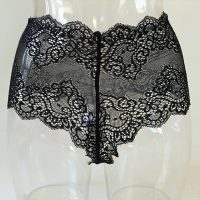 Black Lace Sexy Panties