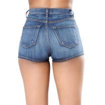 High Waist Short Jeans