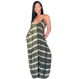 """The """"Black"""" Color Block Maxi Dress"""