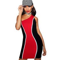 Red Bodycon Mini Dress