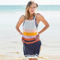 Bohemia Spaghetti Straps Backless Beach Dress