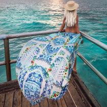 Loose Chiffon Cover Ups Beach Cardigan