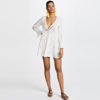 Hollow Embroidered Beach Wear