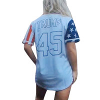 American Statue of Liberty Printed Blouse