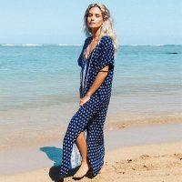 Printed Beach Robe