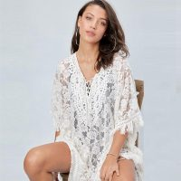 Lace Loose Fringed Beach Wear