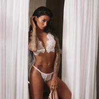 Bralette Lace Cutout Underwear Set